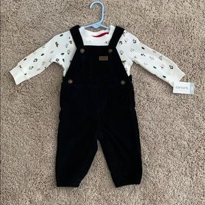 NWT Carter's Baby Boy Overall Set (6mths)